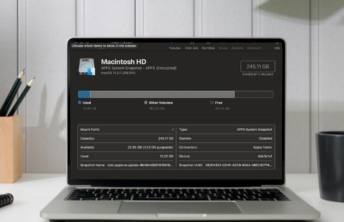 Как исправить или восстановить права доступа к диску в macOS